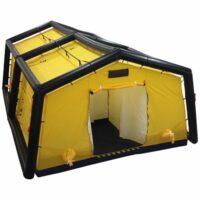 Tömeg mentesítő sátor