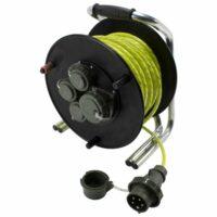 Kábeldob RFX 230 V/400 V, 16 A